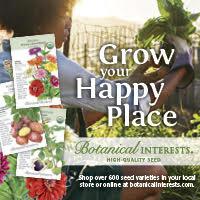 Botanical Interests Ad